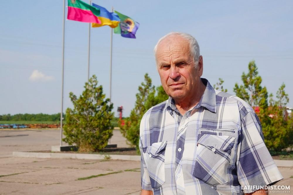 Иван Костенко, исполнительный директор агрофирмы «Славутич»
