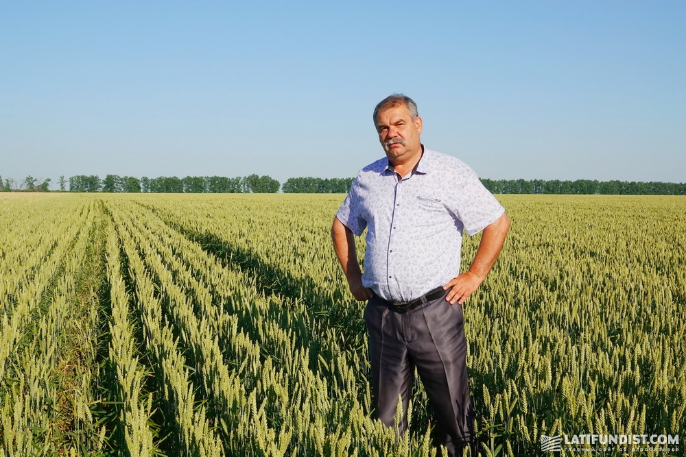 Владимир Гончар, директор агропредприятия «Славутич»