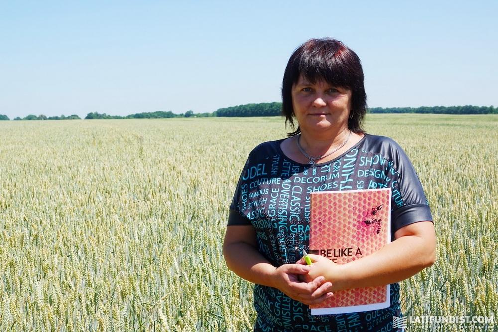 Алина Николаенко, главный агроном предприятия «Норма»