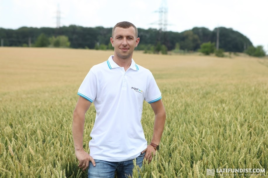 Богдан Шуляк, представитель компании «Август-Украина» в Винницкой области