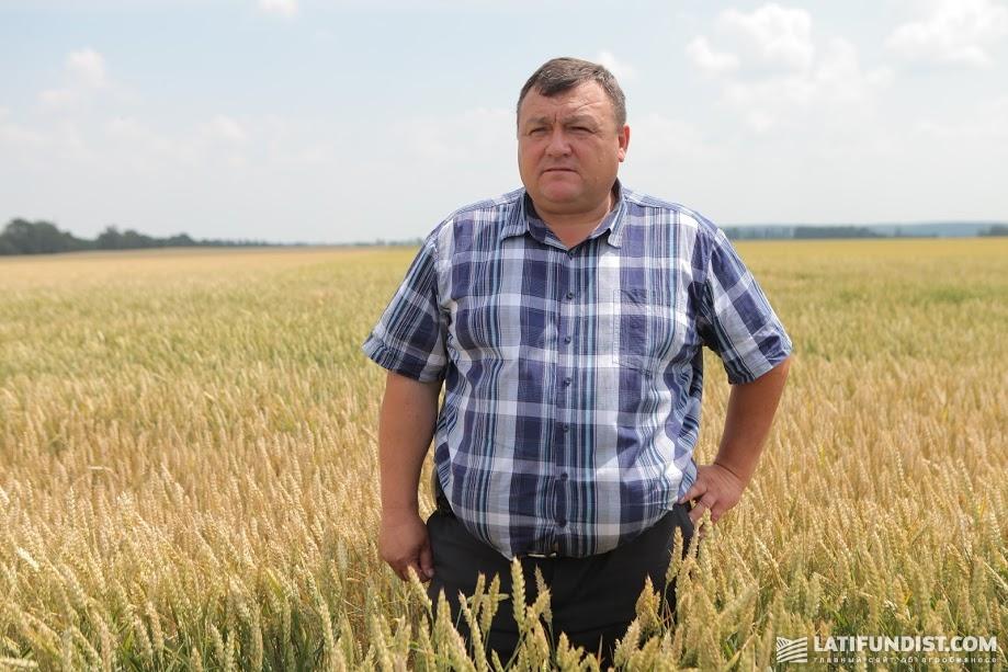 Александр Лошак, агроном предприятия «Агрошляхбуд»