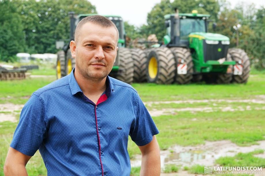 Юрий Паламарчук, главный агроном ФХ «Дашковцы»