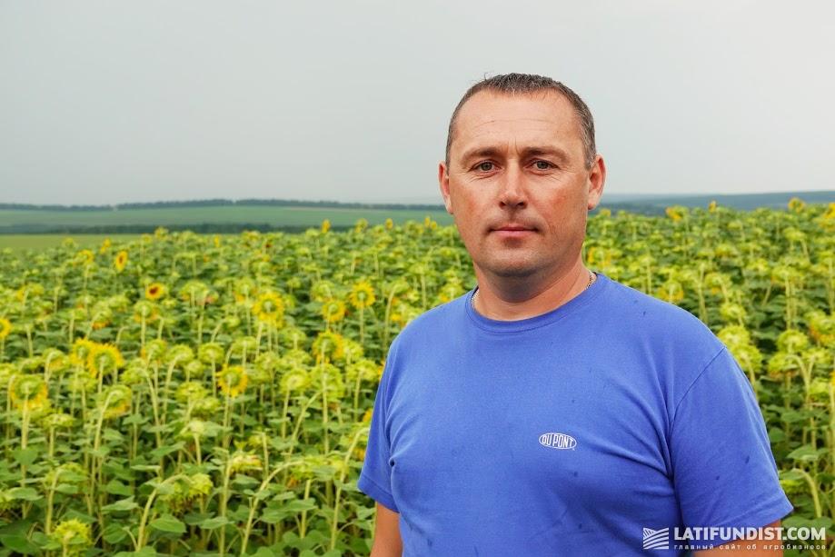 Николай Люльчак, главный агроном ФХ «Урожайное»