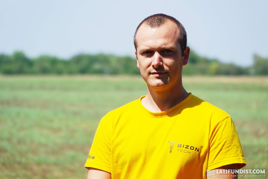 Михаил Соловей, менеджер по продажам компании «Бизон-Тех» в Одесской области