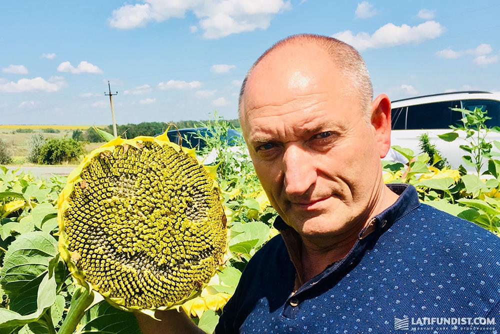 Михаил Полянский, главный агроном агропредприятия «Колосистое»