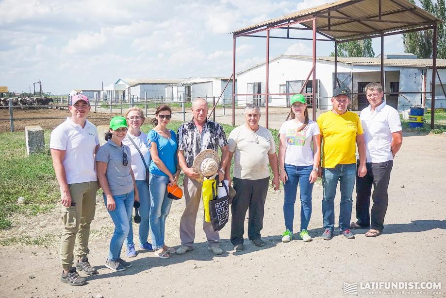 Участники АгроЭкспедиции Подсолнечник 2018