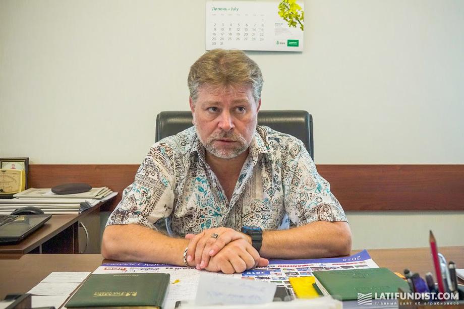 Игорь Очканов, директор предприятия «Россия»