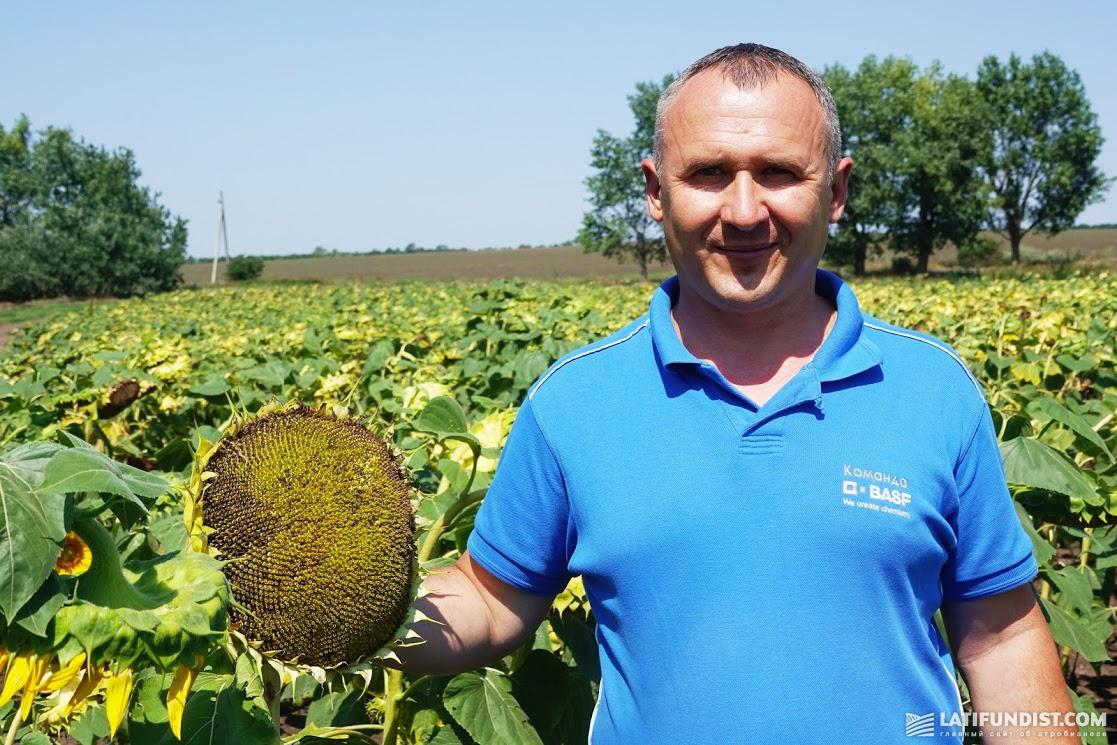 Сергей Черниченко, менеджер по сбыту в Одессе компании BASF