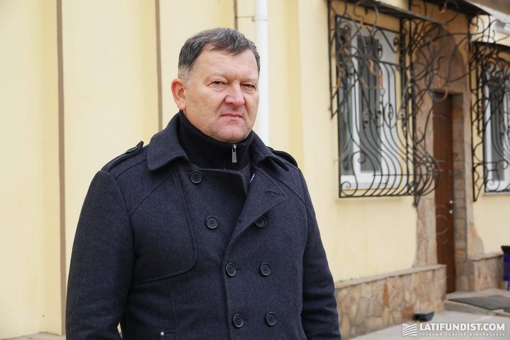 Анатолий Передерко, заместитель директора по техническим вопросам «Агрофирмы «Поле»