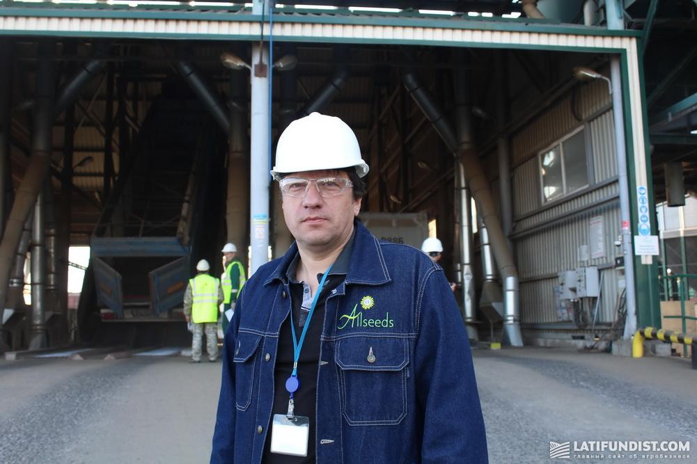 Евгений Климович, директор маслоэкстракционного завода Allseeds