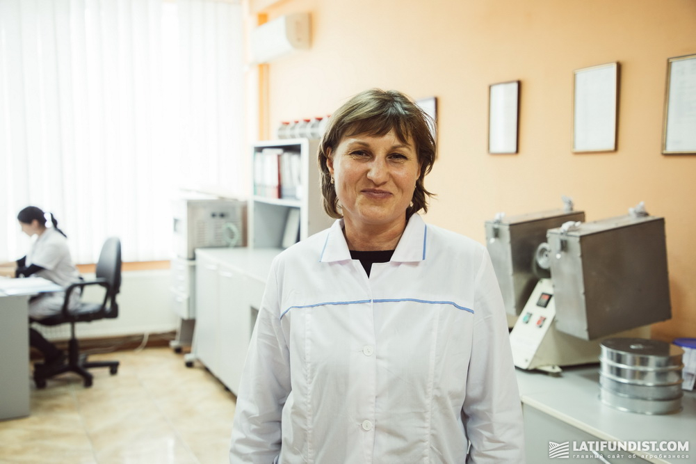 Алла Гостева, заместитель начальника лаборатории