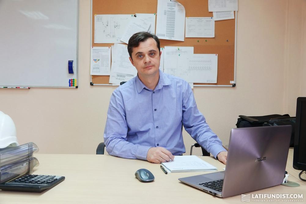 Евгений Зима, директор комбикормового завода