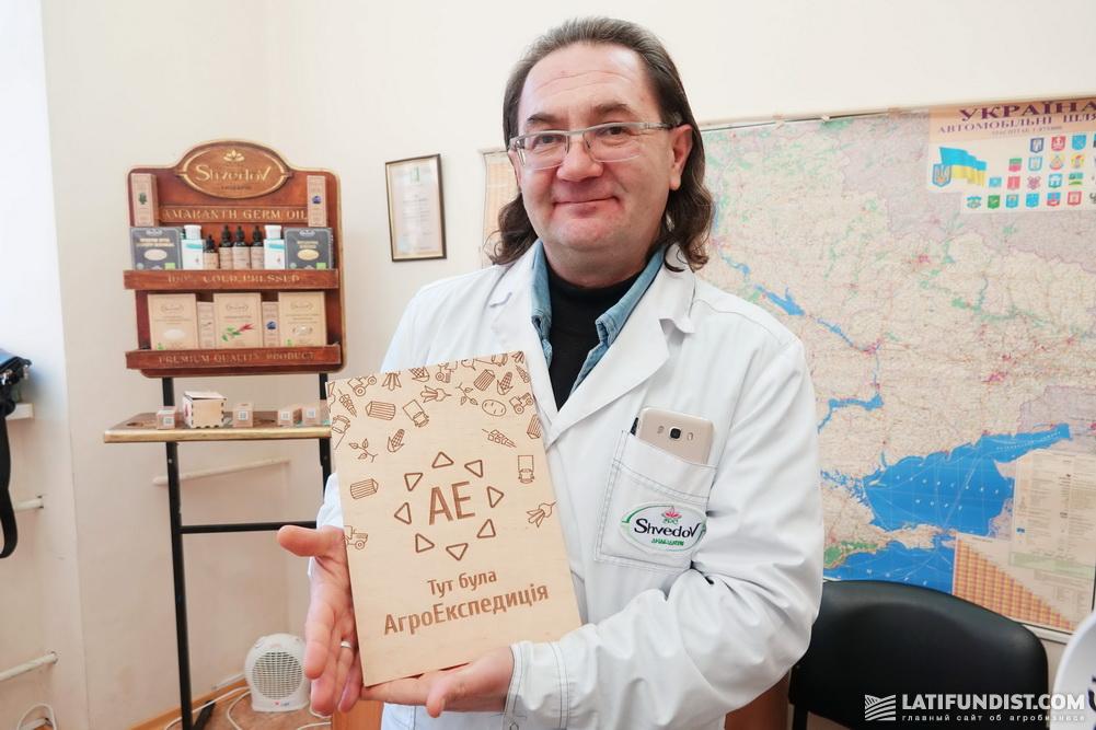 Андрей Шведов, директор и учредитель компании «НПК Амарант»