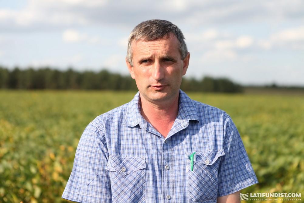 Виктор Шиманский, агроном «Жорнища»