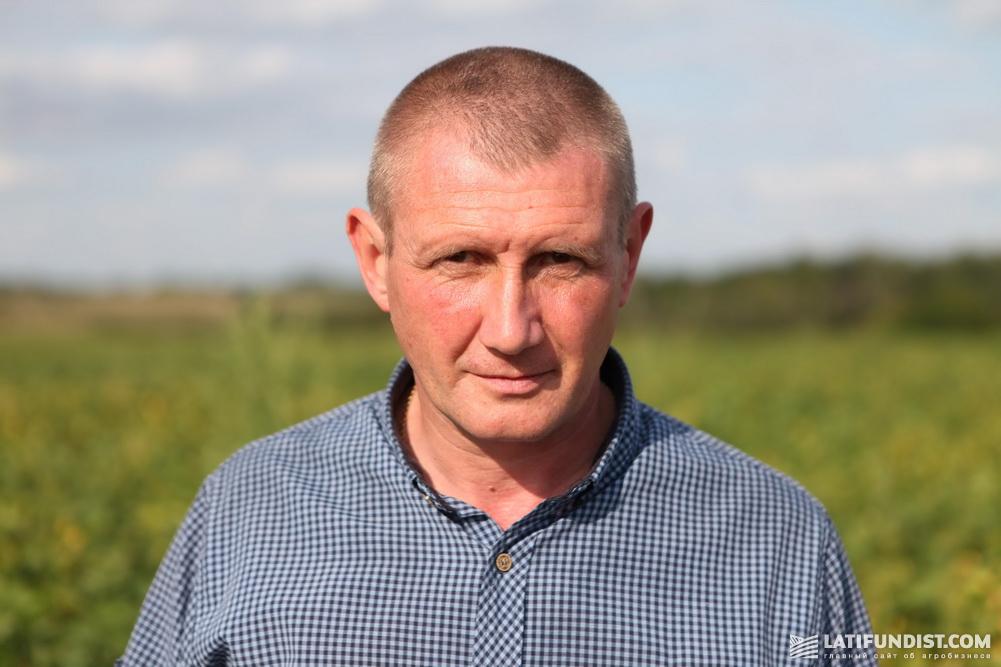 Михаил Онофрийчук, директор предприятия «Жорнище»
