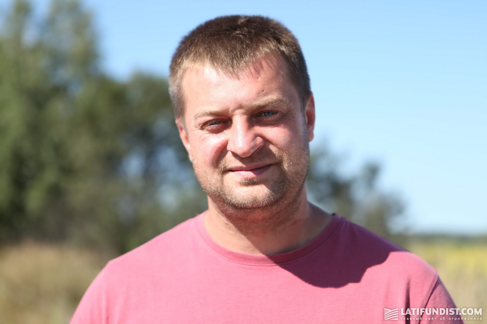 Руслан Присяжнюк, руководитель предприятия «Тирас 2007»