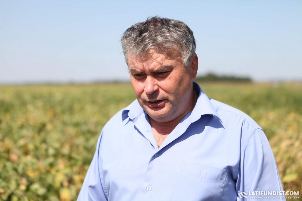 Вячеслав Черкащенко, главный агроном предприятия «Урожай»