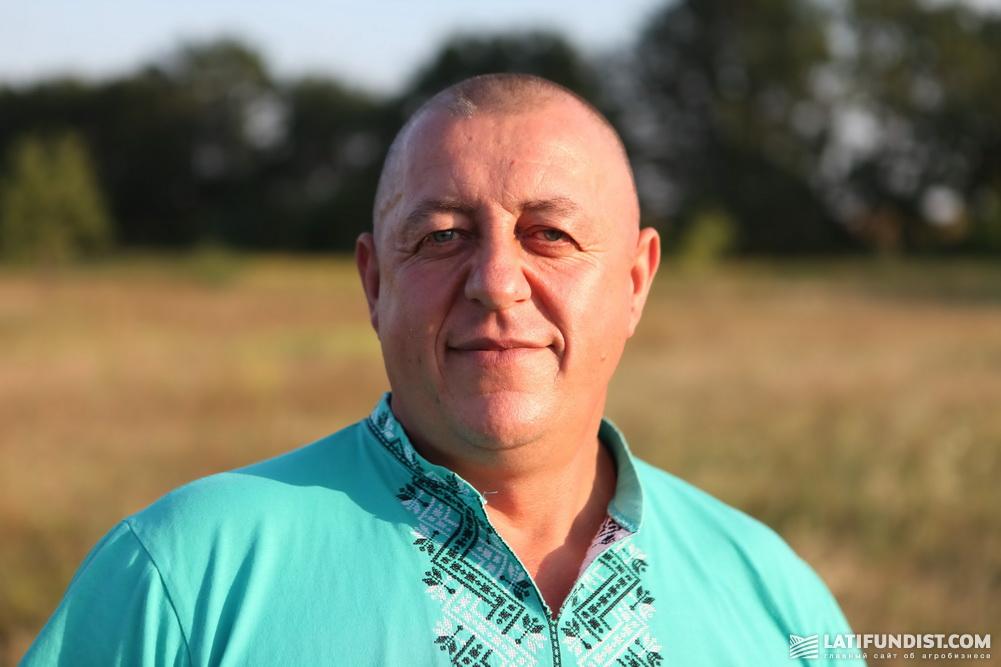 Александр Подолянюк, главный агроном предприятия «Агровит»