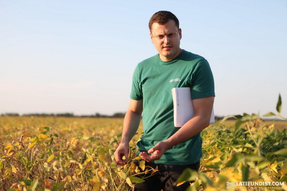Игорь Гуржий, начальник управления агроэкспертизы Credit Agricole Bank