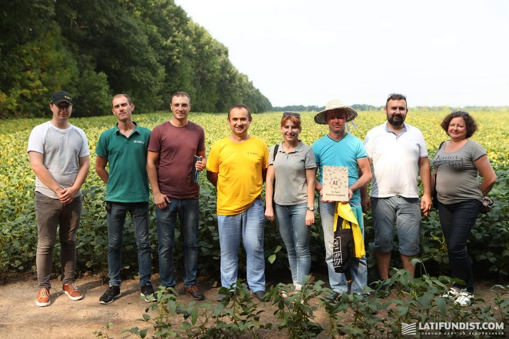 Участники АгроЭкспедиции Соя 2018
