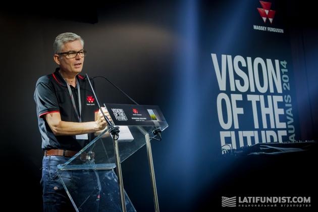 Тьерри Лотте, вице-президент Massey Ferguson по маркетингу в Европе, Африке и на Ближнем Востоке