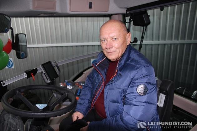 Руководитель предприятия, входящего в холдинг «Таврийские перспективы», Владимир Пиун