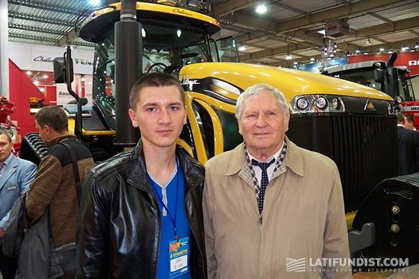 Владимир Давидович Гречкосея со студентом