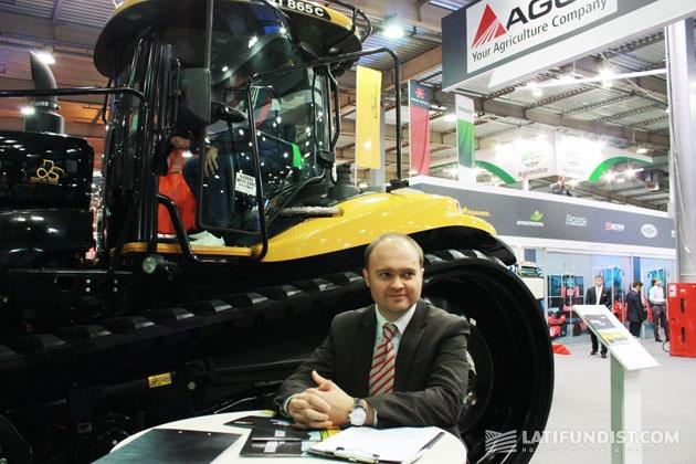 Юрий Войцехович, менеджер по развитию бизнеса Корпорации AGCO