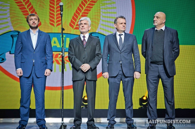 Новые члены президии Аграрной партии Украины