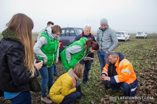 Проверяем качество урожая на поле