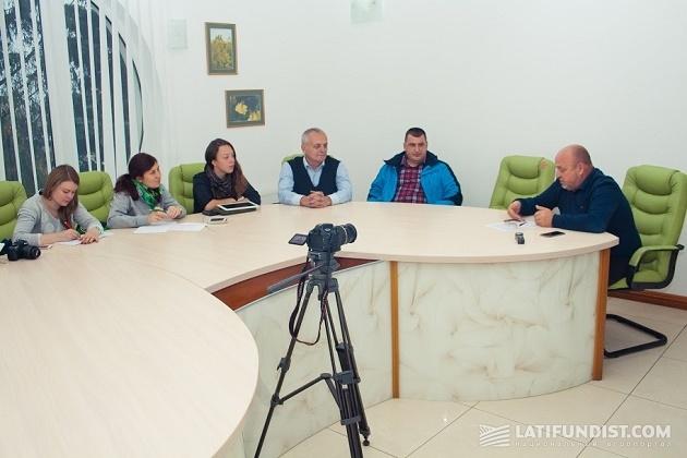 Беседуем с директором предприятия «Агропродсервис» Андреем Бараном