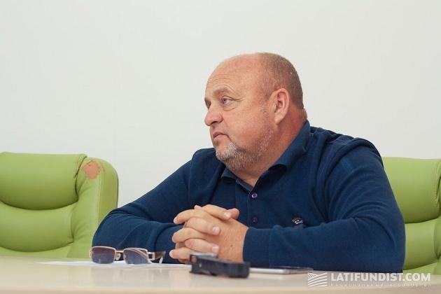 Директор предприятия «Агропродсервис» Андрей Баран