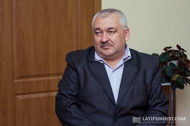 Директор Наркевичского сахарного завода Роман Домбровский