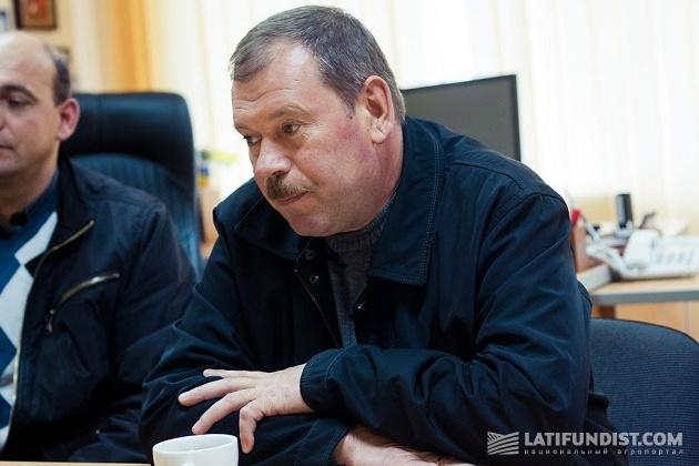 Главный агроном «Волочиск Агро» Игорь Ткачук