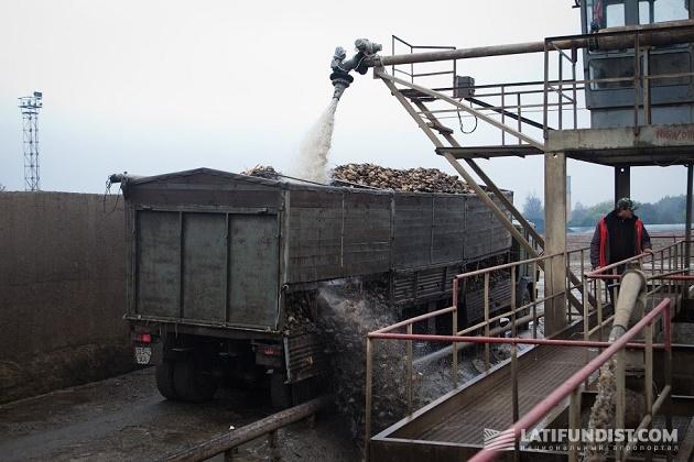 Промывка сырья перед переработкой