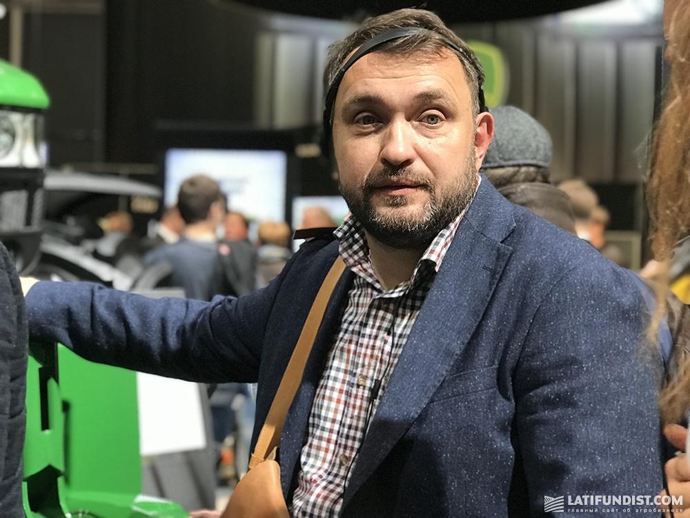 Андрей Душейко, руководитель агропромышленной корпорации «Днипро»