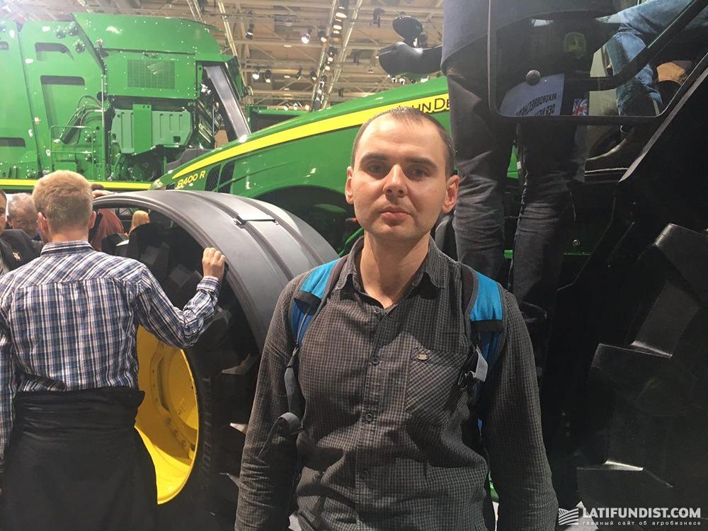 Владимир Мозгов, коммерческий директор компании «Агрокрай»