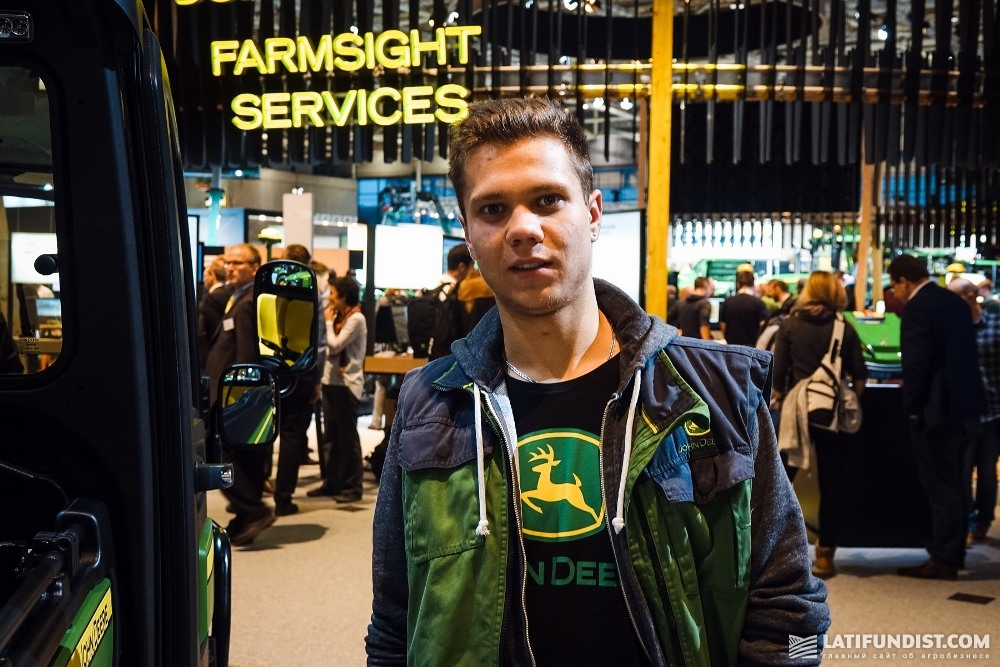 Ян Штайве, фермер из Баварии