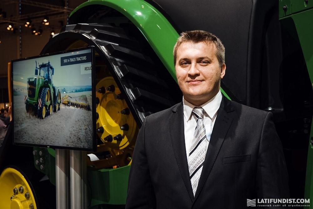 Игорь Молчанов, территориальный менеджер компании «John Deere-Украина»