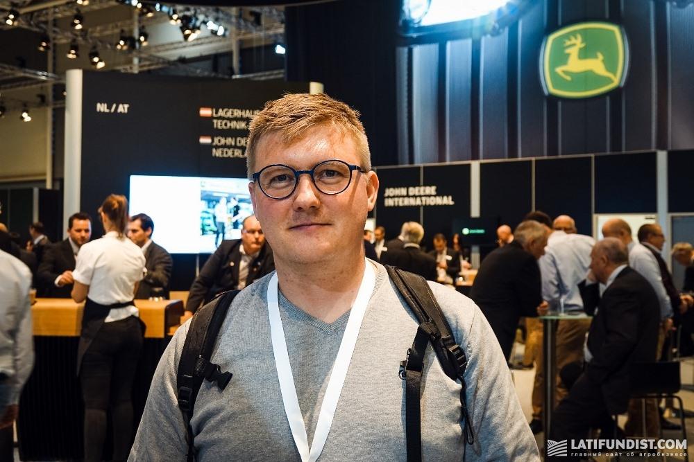 Каспер, агроном из Дании