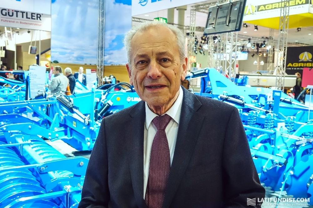Виктор Лемкен, член совета правления Lemken