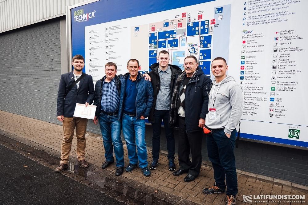 АгроЭкспедиторы с делегацией «Сварог Вест Груп»