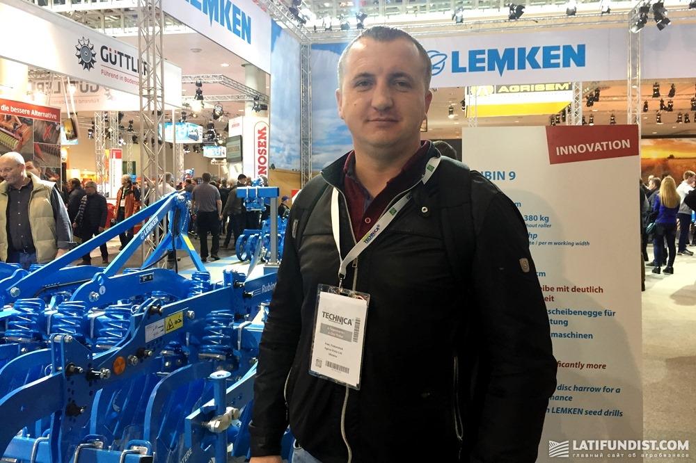 Иван Федорчук, владелец агропредприятия «Агрос-Виста»