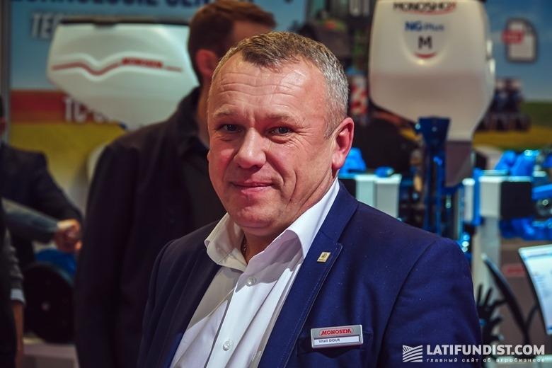 Виталий Дидур, руководитель Винницкого региона компании «Агриматко-Украина»