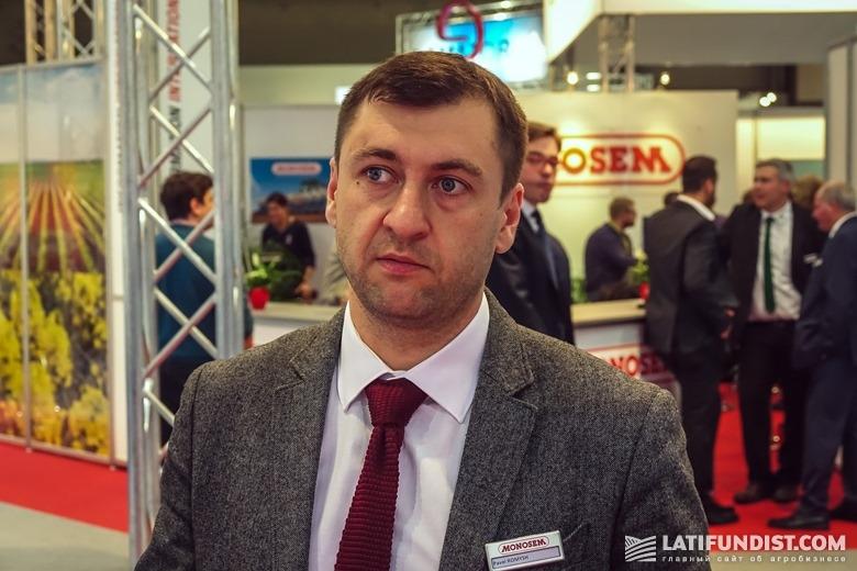 Павел Ромыш, представитель компании Monosem в странах СНГ
