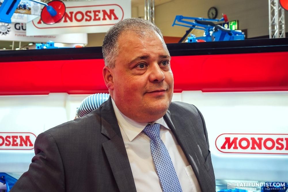 Эрик Марекейл, директор Monosem по экспорту