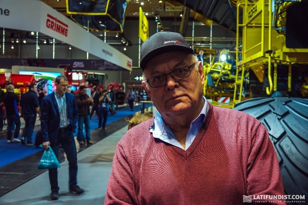 Йоханн Венцль, владелец хозяйства «Дукра Агро»
