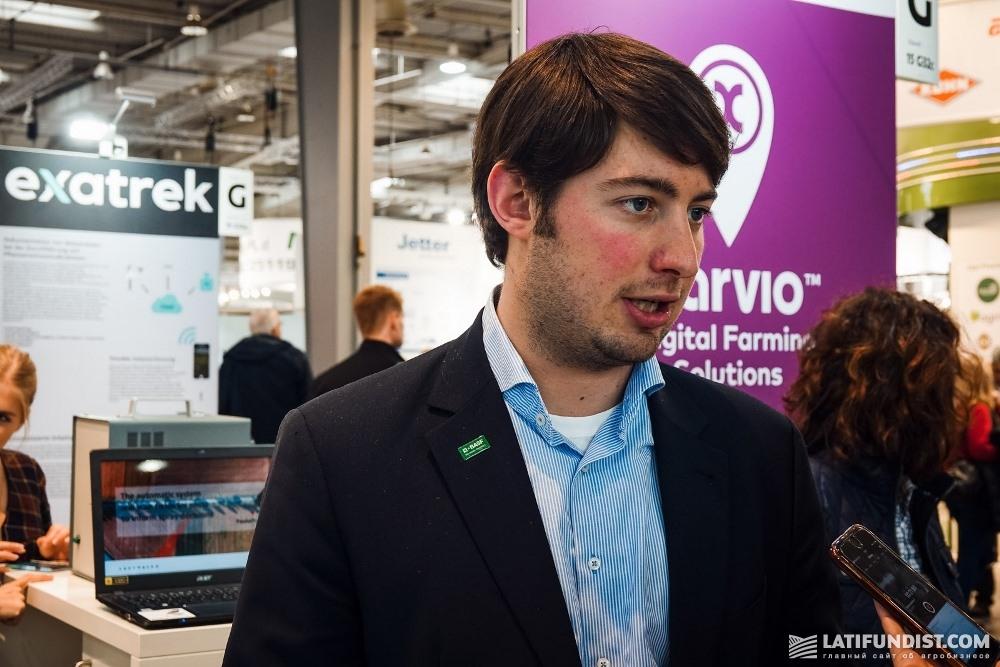 Фредерик Вурс, эксперт по связям с общественностью компании BASF
