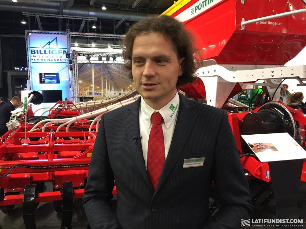 Владимир Мирненко, эксперт по технологической поддержке «Пёттингер Украина»