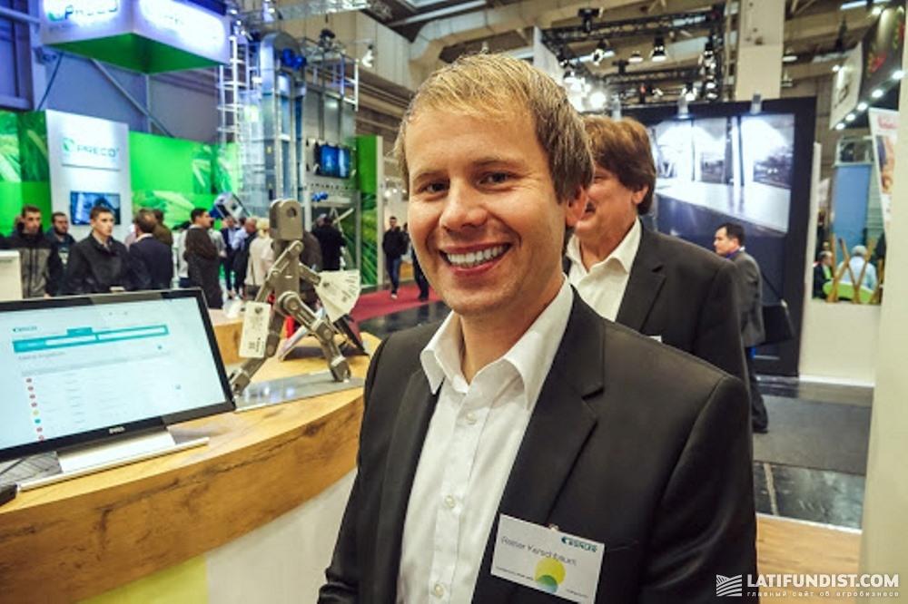 Райнер Кершбаум, представитель компании Bühler
